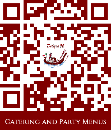 Catering and Party Menus QR Code